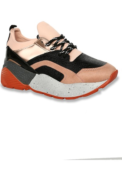 Iva Mae 1111- Pudra Mat Bakır Kadın Sneaker