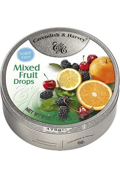 Cavendish Mixed Fruits Drops (Sugar Free) Karışık 175G