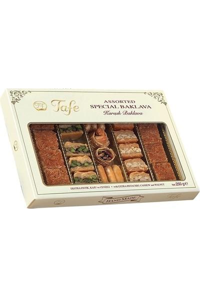 Tafe Karışık Kuru Baklava (Karton Kutu) 250 gr