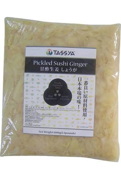 Tassya Zencefil Turşu Beyaz 1 kg