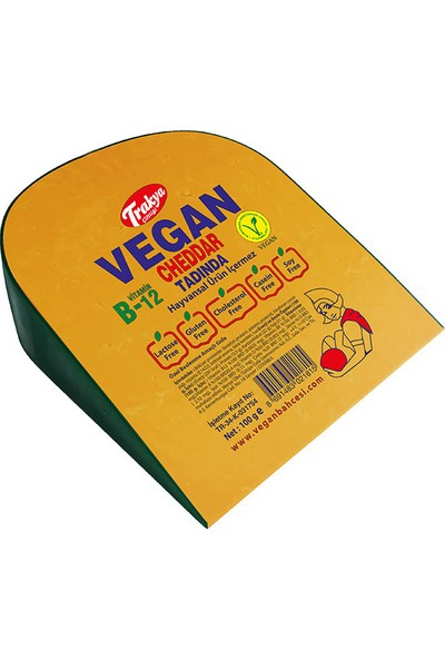 Trakya Çiftliği Vegan Cheddar Tadında 100 gr