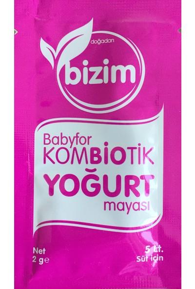 Doğadan Bizim Babyfor Kombiotik Yoğurt Mayası 5'li