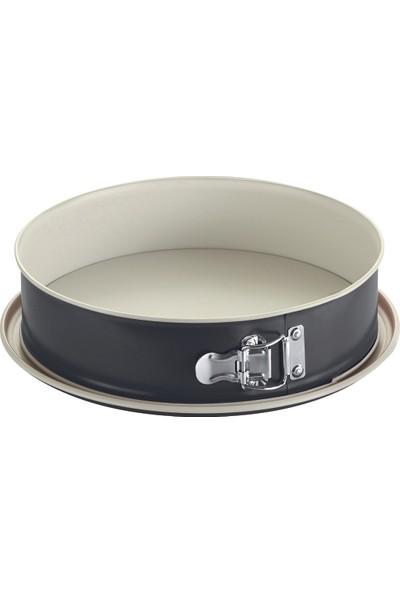 Fisko 26 Cm Siyah Kelepçeli Seramik Kek Kalıbı - Sızdırmaz Taban - 761026