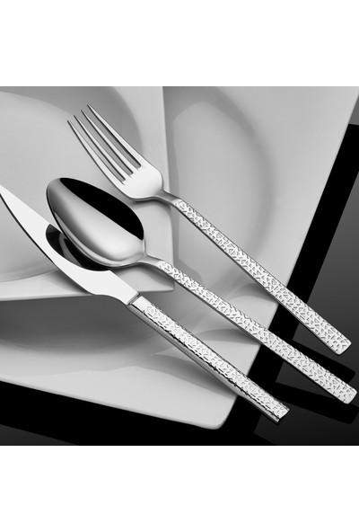 Hira 90 Parça Sandıklı Çatal Kaşık Bıçak Seti Kristal