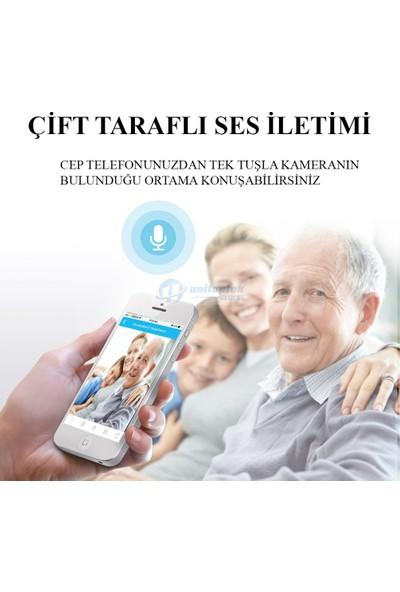 Tech Üçgen Panoromik 960 P İç Mekan IP Wifi Kamera 360 Derece Görüş