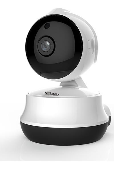Atlas Wifi Kamera 720 P Gece Görüşlü Bebek Kamerası Diafonlu