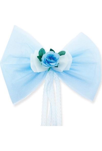 Mutlu Adım Yatak Başı Büyük Fiyonk Mavi