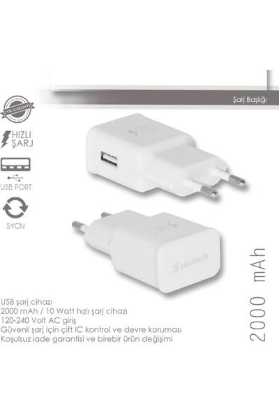 Soultech 2000 mAh USB Hızlı Şarj Başlığı (SC205B)