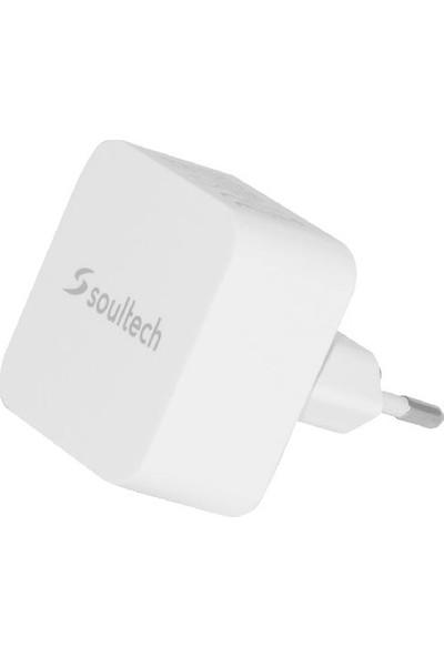 Soultech 2400 mAh 2 USB Hızlı Şarj Başlığı (SC202B)