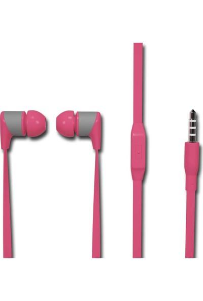 Soultech Stereo Mikrofonlu Kulaklık Pembe (KK003P)