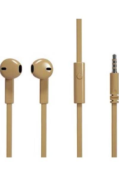 Soultech Strong Mikrofonlu Kulaklık Kahverengi KK007KH