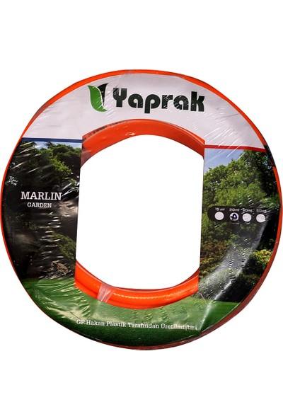 Yaprak Marlin Garden 20 Metre +Örgülü+Kırılmaz +Ekstra Dayanıklı Bahçe Hortumu