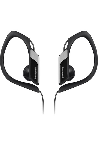 Panasonic RP-HS34ME Suya Dayanıklı Siyah Spor Mikrofonlu Kulak İçi Kulaklık