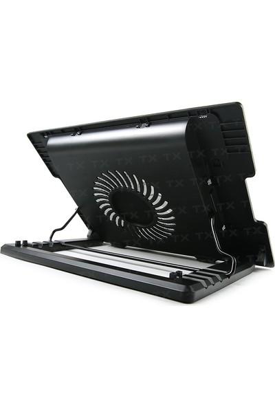 TX ErgoStand2 Yükseklik Ayarlı 2xUSB Notebook Soğutucu (TXACNBERGST2)