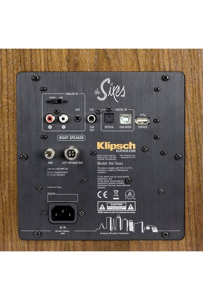 Klipsch The Sixes Ceviz Bluetooth Stereo Hoparlör Seti