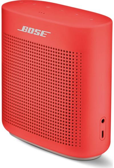 Bose SoundLink Color II Bluetooth Hoparlör Kırmızı