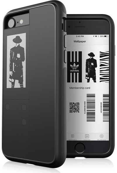 Oaxis InkCase IVY Cool Black iPhone Uyumlu Akıllı Kılıf