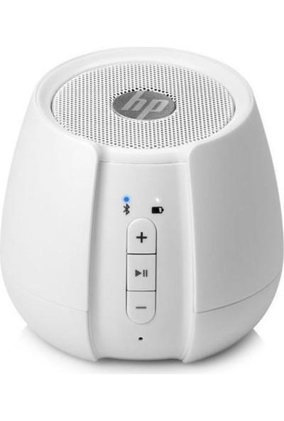 HP S6500 Kablosuz Bluetooth Hoparlör Beyaz N5G10AA