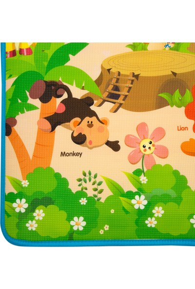Dophia Hello Baby Jungle Oyun Halısı