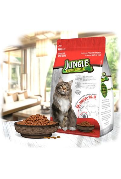 Jungle 1,5 kg Kuzulu Yetişkin Kedi Maması