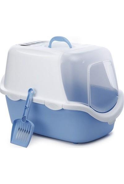 Stefanplast Kapakli Karbon Filtreli Kapali Kedi Tuvaleti 40X40X56 Cm