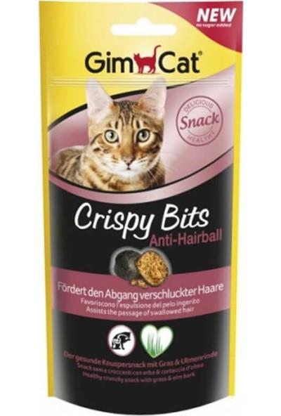 Gimcat Crispy Bits Tüy Yumağı Önleyen Çimenli Kedi Ödülü 40 gr