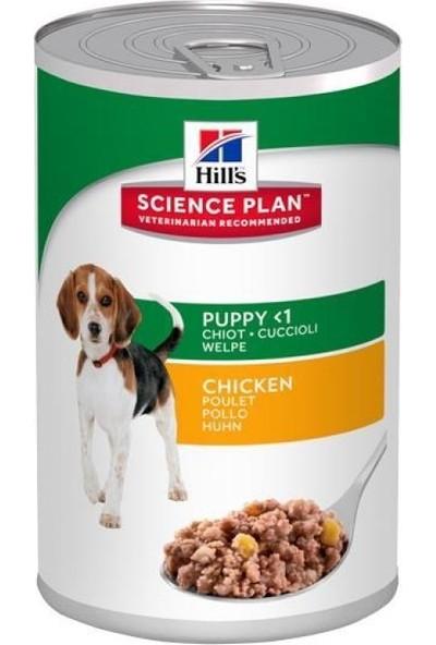 Hills Science Plan Puppy Chicken Tavuklu Yavru Köpek Konservesi 370 Gr