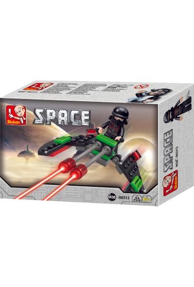 Sluban SPACE Yıldız Savaşçısı Araç Sith