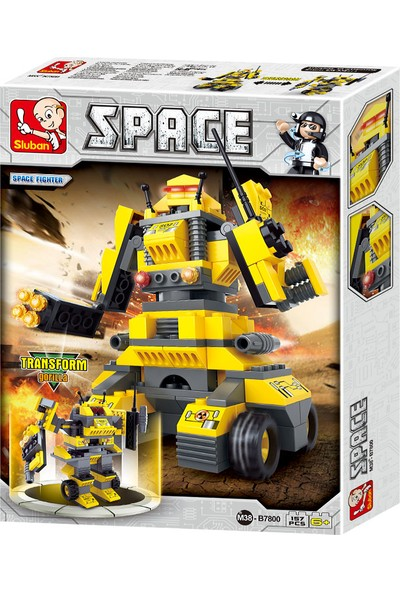 Sluban SPACE Savaşçı Robot Tiger