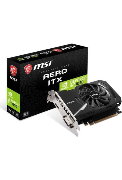 MSI NVIDIA GeForce GT 1030 AERO ITX 2GB GDDR5 Ekran Kartı ( GeForce GT 1030 AERO ITX 2G OC )