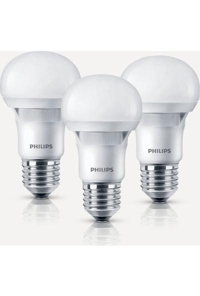 Philips Essential 8-48W E27 6500K 3'lü Eko Paket Beyaz Işık