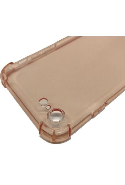 Vendas iPhone 7/8 Airbag Tasarımlı Rose Gold Silikon Kılıf + Ekran Koruyucu