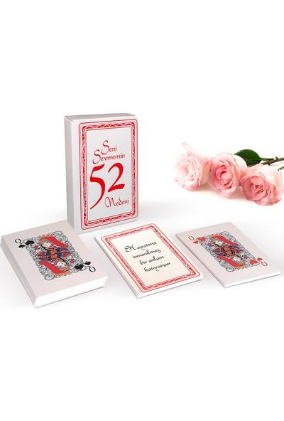 Hedi̇ye Mani̇a Seni Sevmemin 52 Nedeni İskambil Kağıdı