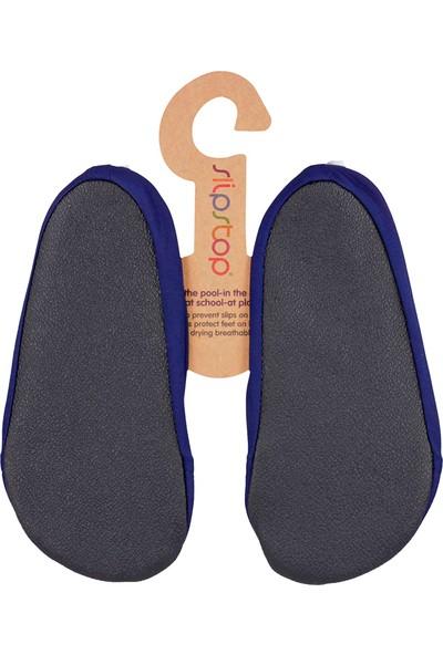 Slipstop Navy Junior Erkek Çocuk Kaydırmaz Ayakkabı - Patik
