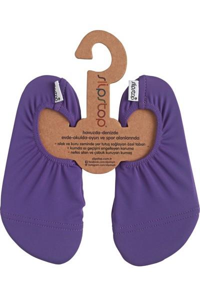 Slipstop Purple Junior Kız Çocuk Kaydırmaz Ayakkabı - Patik