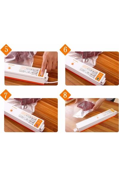 Leaone Ev Tipi Elektrikli Vakumlama Makinesi Gıda Vakum ile paketleme Cihazı