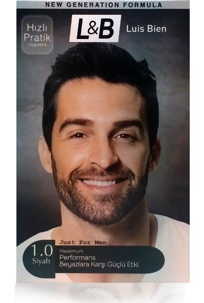 Luis Bien Saç Beyazlık Giderici Set-Siyah
