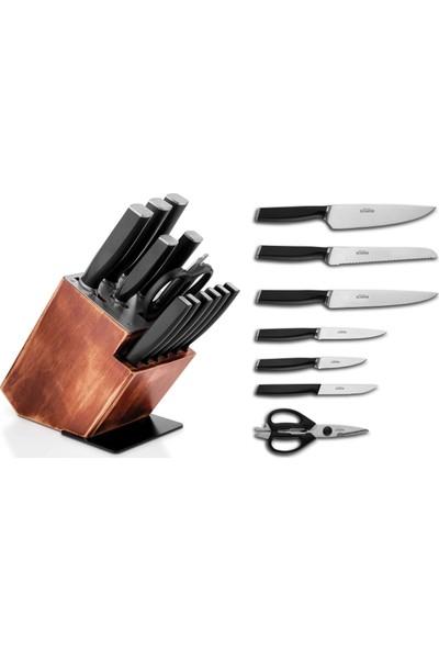 Schafer Solide 13 Parça Bıçak Seti - (Sıy05)-18931