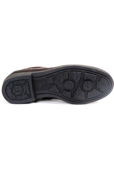 White World 1702 Kahve Komfort Ayakkabı