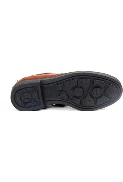 White World 1702 Taba Komfort Ayakkabı