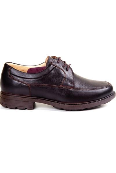 White World 1714 Kahve Komfort Ayakkabı