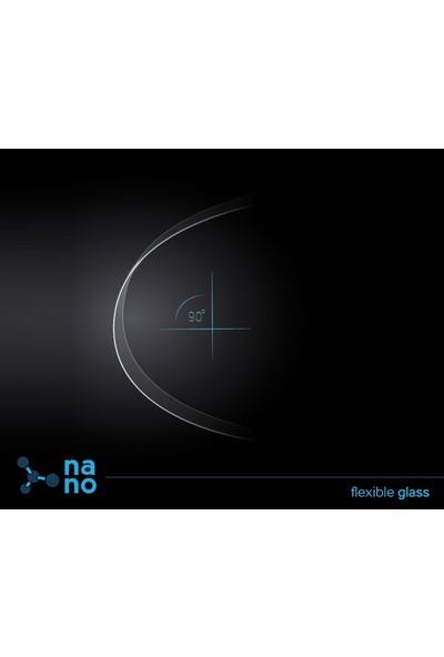 Dafoni Huawei Mate 8 Curve Nano Glass Premium Siyah Cam Ekran Koruyucu