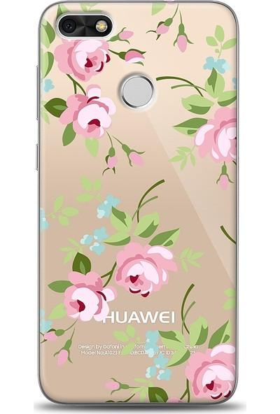 Eiroo Huawei P9 Lite Mini Roses Desenli Baskılı Tasarım Kılıf