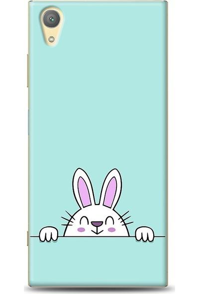 Eiroo Sony Xperia XA1 Plus Tavşan Desenli Baskılı Tasarım Kılıf