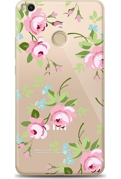 Eiroo Xiaomi Mi Max 2 Roses Desenli Baskılı Tasarım Kılıf