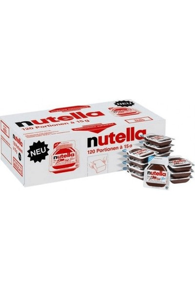 Nutella 15 gr x 120 Adet