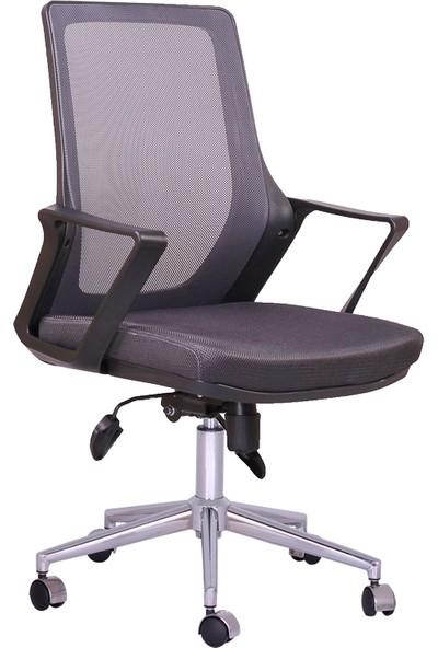 Büronet Alfa Antrasit Personel Ve Şef Koltuğu - Büronet Mobilya