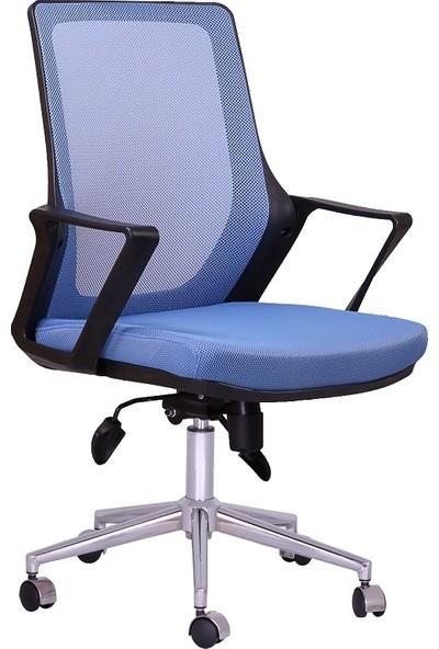 Büronet Alfa Mavi Fileli Personel Ve Şef Koltuğu - Büronet Ofis Mobilyası