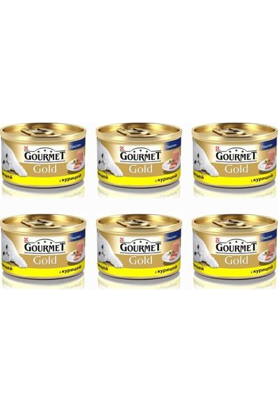 Gourmet Gold Kıyılmış Tavuklu Konserve 85 Gr X 6 Adet