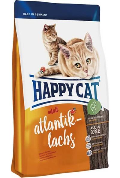 Happy Cat Supreme Atlantik Lachs Somonlu Yetişkin Kedi Maması 1.4 Kg